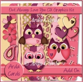 Owl Always Love You! CU Graphics Kit Add On