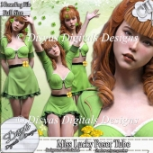 MISS LUCK POSER TUBE PACK CU