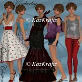 Kimberley Fashionista Collection