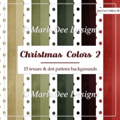 Christmas Holiday Package 2 Digital Papers Pkg 2 {A4 Size}