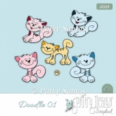 Doodles 2015 pack 01 Pathy Design