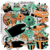 Halloween flowers 2 FS by GJ