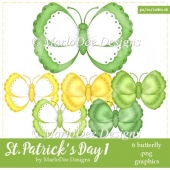 St. Patrick's Day Colors 1 - Butterfly Graphics 1