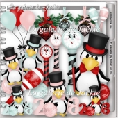 CU Happy New Year Penguin 2 FS by GJ
