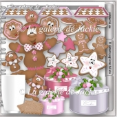 CU Christmas Gingerbread 3 FS by GJ
