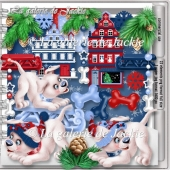 CU Christmas Dog 1 FS by GJ