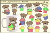 Dougal Dog Cupcake Treats CU Clipart
