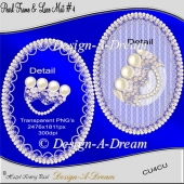 Pearl Frame & Lace Mat #4