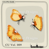 Butterflys Pack 1 by Lemur Designs