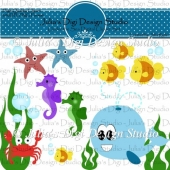 Under the Sea Digital Clipart Set