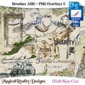 Brushes ABR - PNG Overlays Set 5