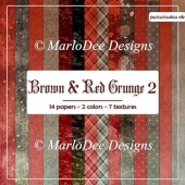 Brown & Red Grunge Style Backgrounds 2