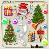 CU Vol. 421 Winter Christmas by Lemur Designs