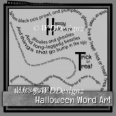Halloween WordArt (full)
