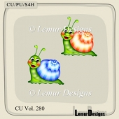 CU Vol. 280 Snails by Lemur Designs