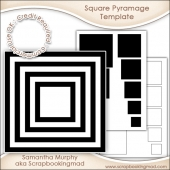 Square Pyramage Template Commercial Use Ok