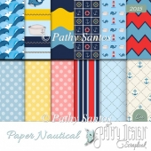 Paper Nautical Pathy Design
