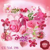 CU Vol. 196 Flowers Mix by Lemur Designs