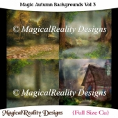 Magic Autumn Backgrounds Vol 3