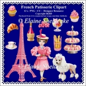 French Patisserie - CU Clipart - Designer Resource