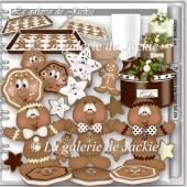 CU Christmas Gingerbread 1 FS by GJ
