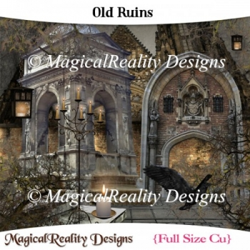 Old Ruins Halloween Gothic Mix