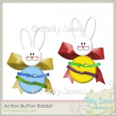 Action Button Rabbit Pathy Santos