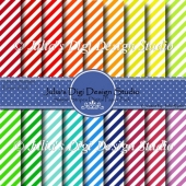 Simple Stripes Digital Paper Pack
