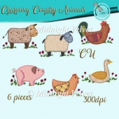 Charming Country Animals