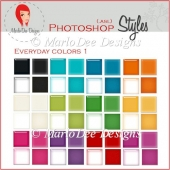 Everyday Colors :: Photoshop Styles by MarloDee Designs