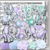 CU Elephant Love 1 FS by GJ