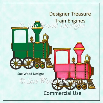Designer Treasure Train Engines C.Use