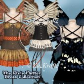 The Pixie Flutter Dress Collection
