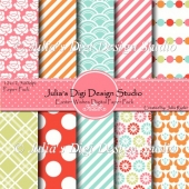 Easter Wishes Digital Paper Pack