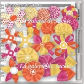 CU ribbon flowers 1 FS by GJ