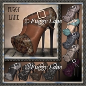 10 Peep Toe Platforms Set 1