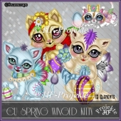 CU SPRING WINGED KITTY