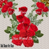 Red Roses For Commercial Use