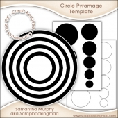 Circle Pyramage Template Commercial Use Ok