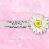 Free Soft Pink Bokeh Pattern Digital Paper
