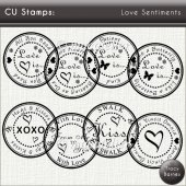 CU Stamps: Love Sentiments