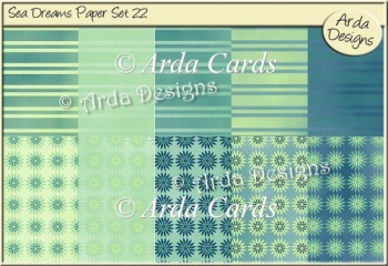 Sea Dreams Paper Set 22