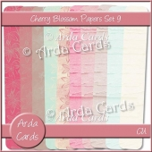Cherry Blossom Papers Set 9