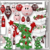 CU Funny Christmas Ornaments 2 FS by GJ