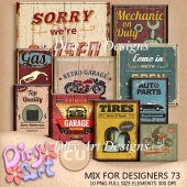 * Mix For Designers 73 *