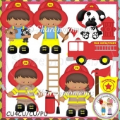 Little Fire Fighters AA Designer Resource Graphic