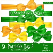 St. Patrick's Day Colors 2 - Bow Graphics 2