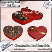 Chocolate Box Heart Tubes CU