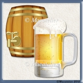 Elements Beer Mug & Barrel