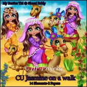 CU Jasmine on a walk